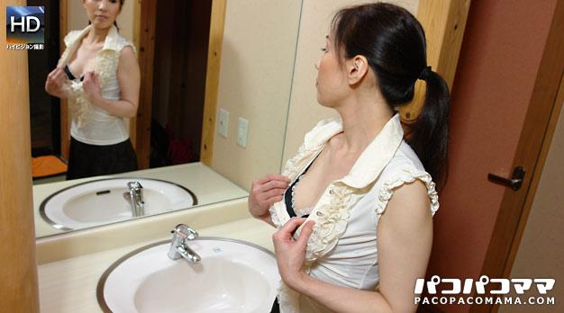 おばさんと混浴デート