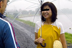 三和久子 田舎の明るい農村熟女