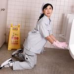 パコパコママ|便所で悶える清楚な掃除婦|森下夕子|熟女 人妻