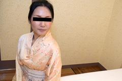 黒木ちさと 旅館の女将の艶やか着物姿