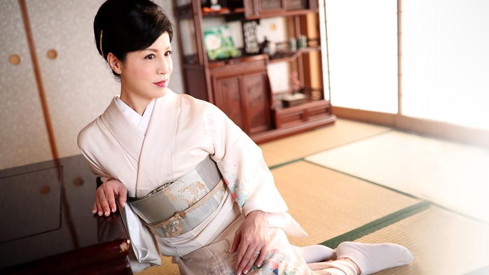 Pacopacomama 050618_268 Yuko Morishita 五十路の着物美人の円熟性技