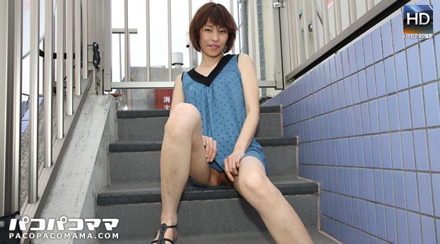 人妻パコパコママ熟女・バツイチ子持ちパイパン・川上桃佳・20252