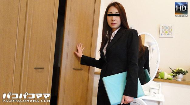 人妻パコパコママ熟女・不動産屋で働くいい女・美山香・12279