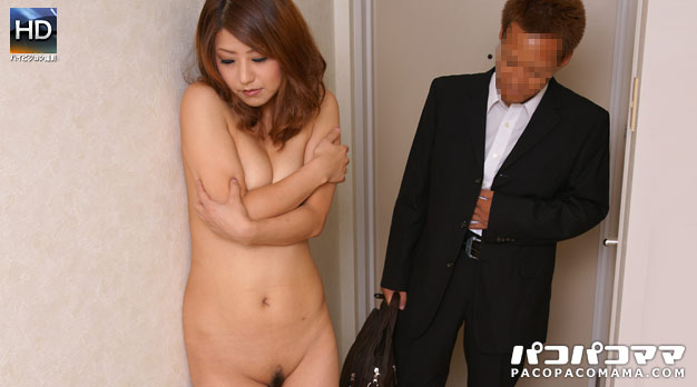 Pacopacomama 111710_241 Erika Fujii 玄関先�スッ�ン�ン 6 〜羞�心丸出�玄関交渉〜